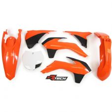New Plastic Kit Orange KTM SX SXF 125/250/350/450 2013-15 Racetech